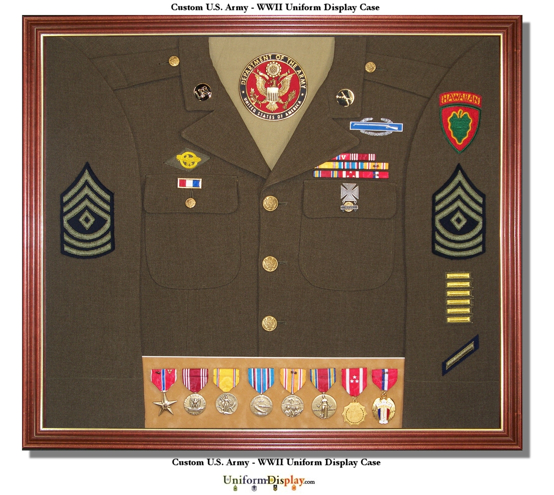 Military Uniform Display 117